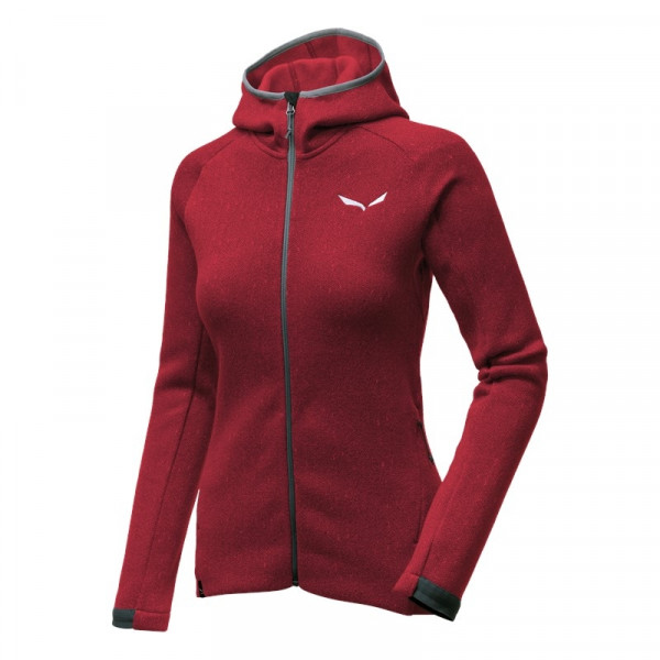 PUEZ HERRINGBONE POLARLITE FULL-ZIP DAMEN FLEECE