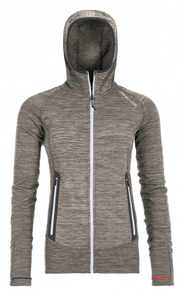 FLEECE LIGHT MELANGE HOODY W